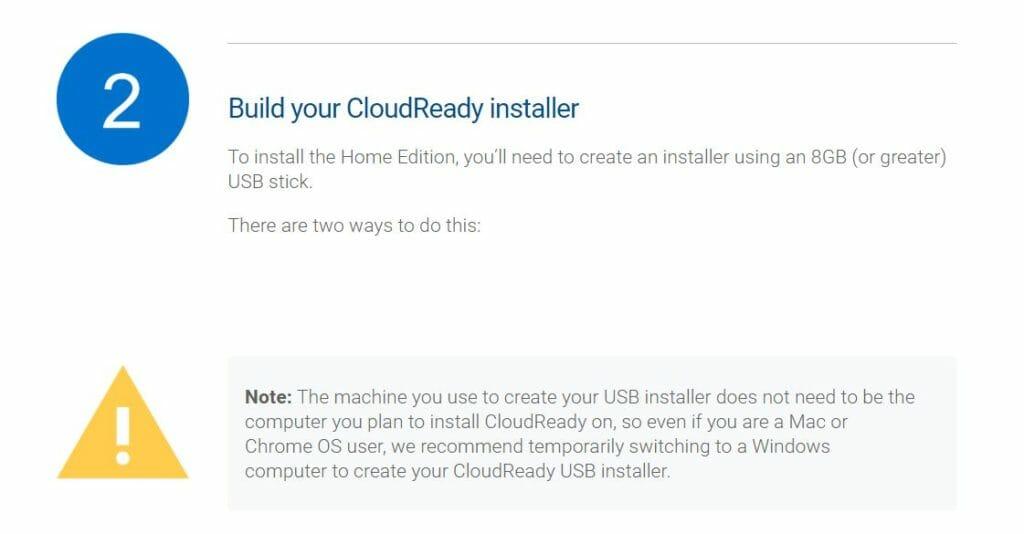 cloud ready 5 1024x534 - Chrome OSをWindows10 PC上でUSBメモリーから起動してみた?!