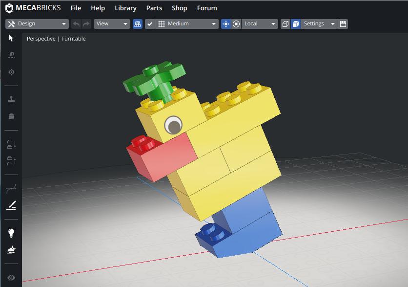 Screenshot2019 08 11at18.14.28 - Chromebookで3DCGレンダリング?LEGOをオンラインのMecabricksで楽しむ?!