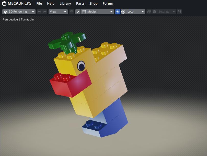 Screenshot2019 08 11at18.23.33 - Chromebookで3DCGレンダリング?LEGOをオンラインのMecabricksで楽しむ?!
