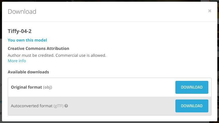 Screenshot2019 08 12at19.16.03 - ChromebookでVR?オンラインWebアプリのSTYLYにSketchfabの3DCGモデルをアップして撮影?!