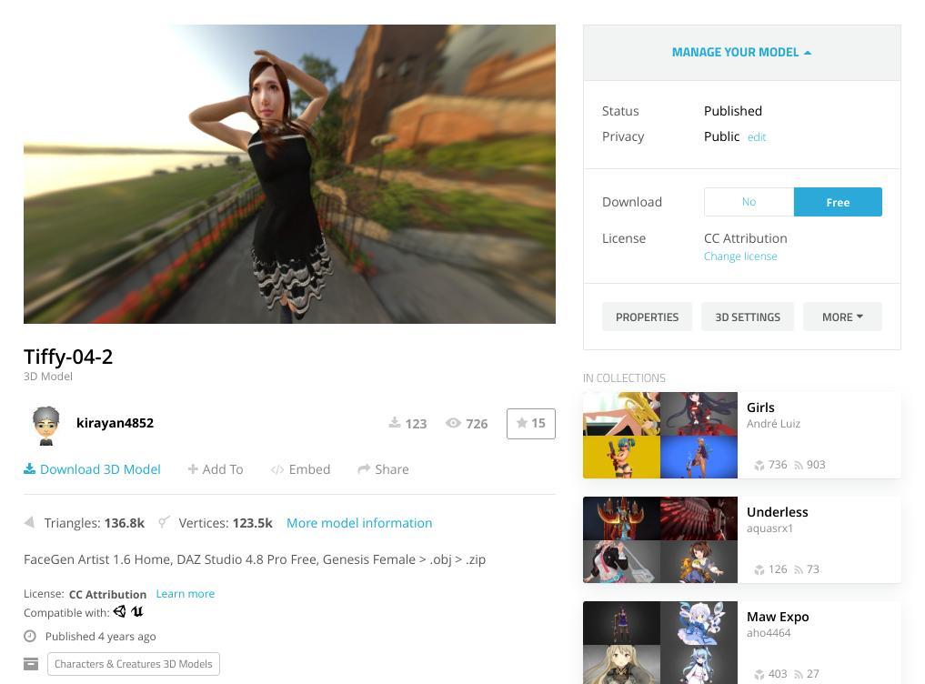 Screenshot2019 08 12at19.17.27 - ChromebookでVR?オンラインWebアプリのSTYLYにSketchfabの3DCGモデルをアップして撮影?!