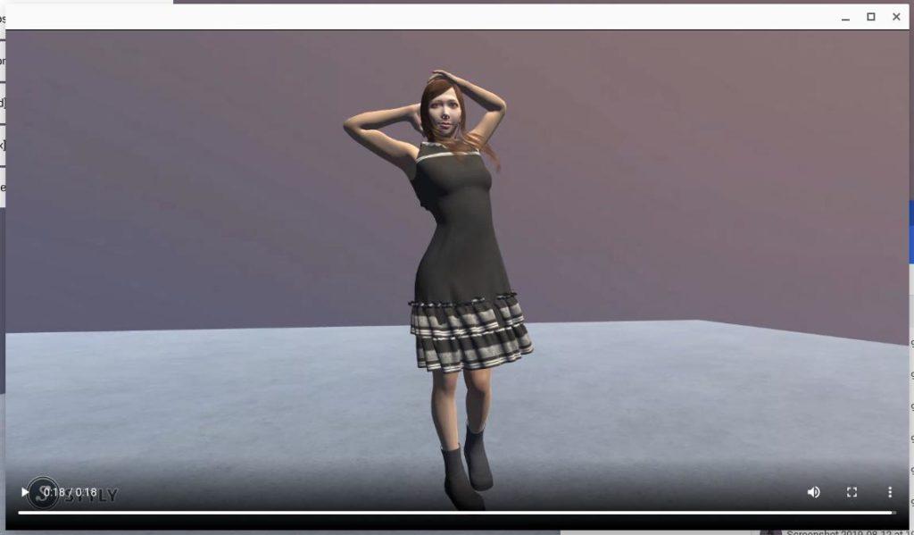 Screenshot2019 08 12at19.50.56 1024x599 - ChromebookでVR?オンラインWebアプリのSTYLYにSketchfabの3DCGモデルをアップして撮影?!