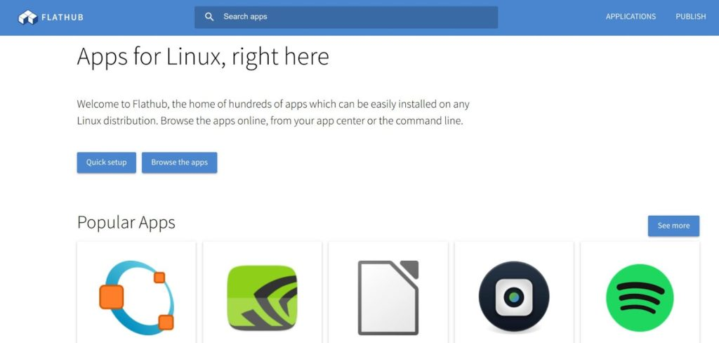 flathub 1024x488 - CloudReadyでLinux?PCにインストールすることでLinuxアプリを使う方法とは?!