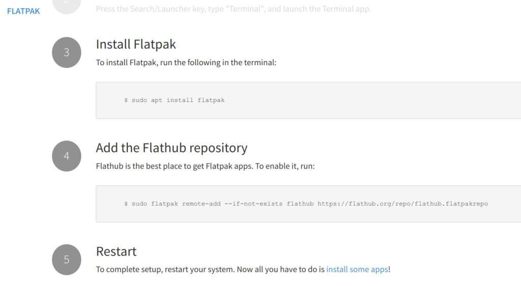 flatpak install 1024x562 - CloudReadyでLinux?PCにインストールすることでLinuxアプリを使う方法とは?!