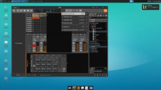 Bitwig Studio3 Demo on Crouton Xubuntu