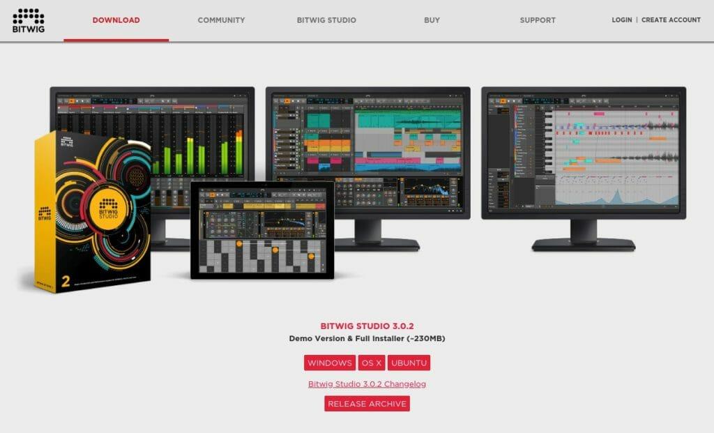 Screenshot 2019 09 13 at 19.47.38 1024x621 - ChromebookでDTM?デモ版Bitwig Studio 3 Linux版を試す?!