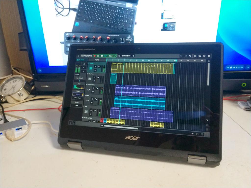 IMG 20191025 133601322 eye 1024x768 - ChromebookでDTM?Roland ZenbeatsをYouTubeで紹介?!