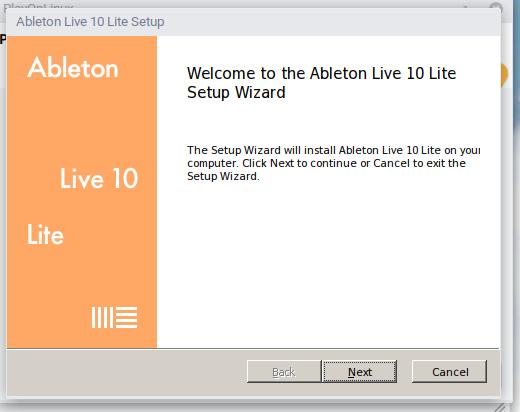Screenshot from 2019 10 16 18 12 17 - ChromebookでWINE?GalliumOSのPlayOnLinuxでAbleton Liveのインストールにチャレンジ?!