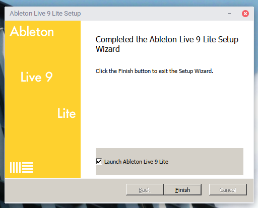 Screenshot from 2019 10 19 20 02 27 - ChromebookでDTM?Ableton Live 9 LiteをGalliumOS上のWINEで動かす?!