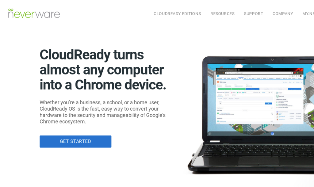 Screenshot 2019 11 05 at 16.54.55 1024x610 - CloudReadyでLinux?2in1Windows PCをChromebook化?!