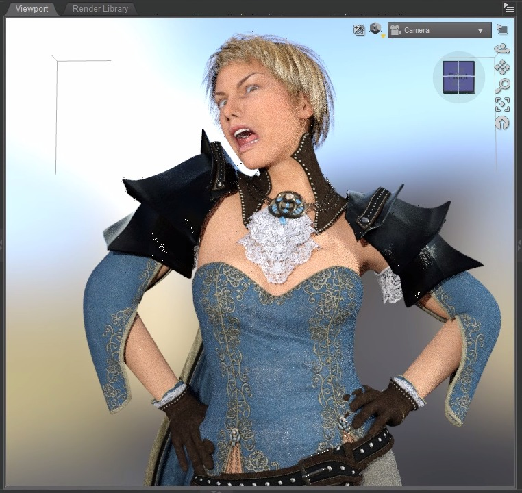 Screenshot 2019 12 05 at 10.46.26 - ChromebookでDAZ Studio?Paperspaceで女性モデルを物理レンダリング?!