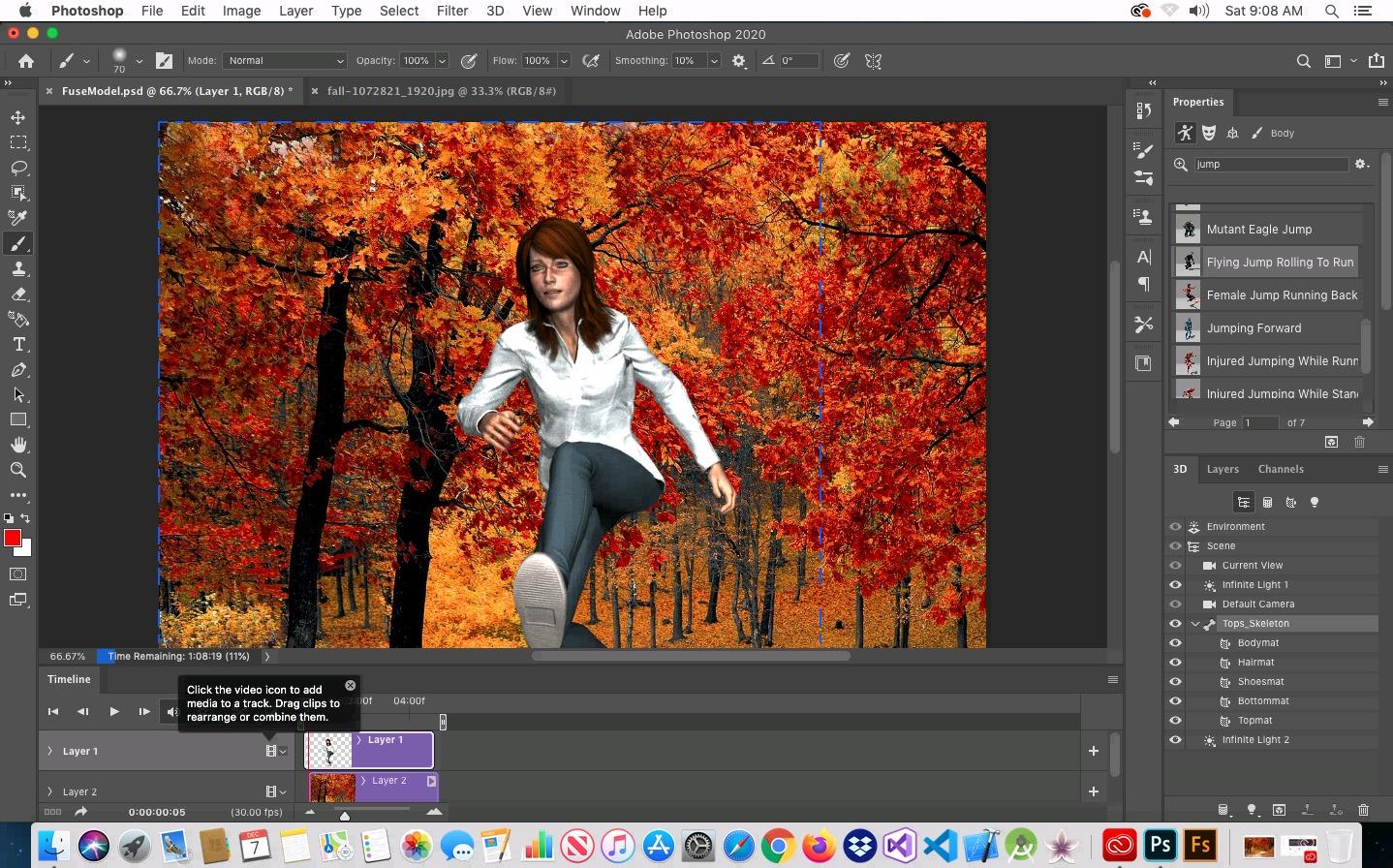 Chromebook MacinCloud Mojave Fuse CC Photoshop 2020 3D