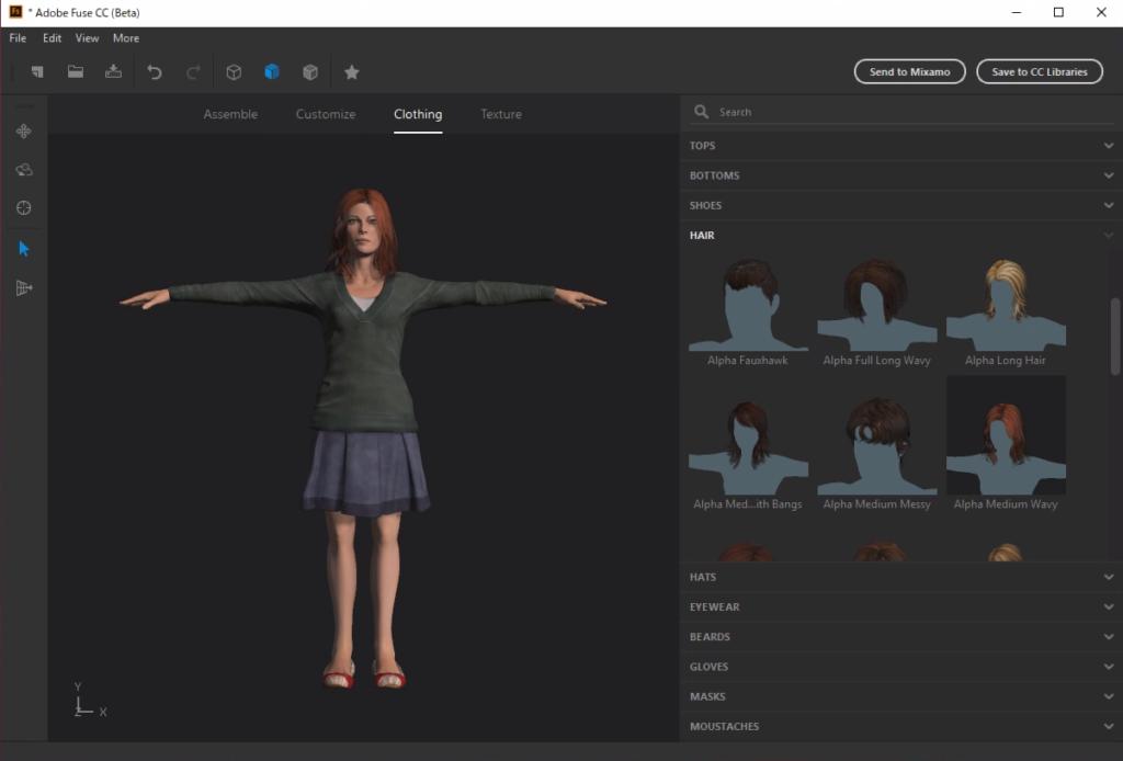 Screenshot 2019 12 24 at 18.21.42 1024x694 - ChromebookでFuse CC?Paperspaceの仮想Windowsで3Dモデルを作成?!