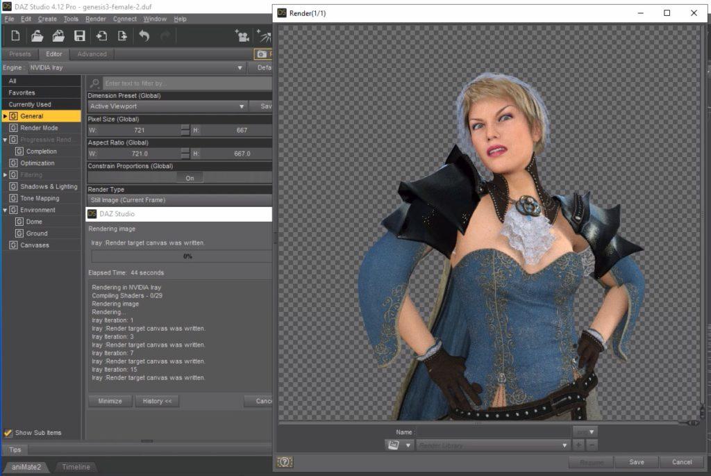 Screenshot 2020 01 07 at 07.06.32 1024x685 - ChromebookでDAZ Studio?Paperspaceの仮想WindowsでIray物理レンダリング?!