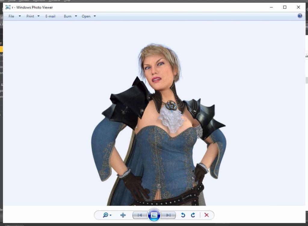 Screenshot 2020 01 07 at 07.23.17 1024x752 - ChromebookでDAZ Studio?Paperspaceの仮想WindowsでIray物理レンダリング?!