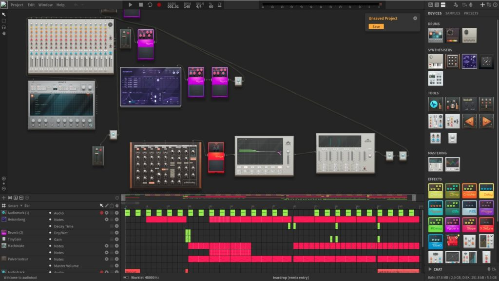 Screenshot 2020 05 15 at 19.02.30 1024x576 - ChromebookでWebシンセ?オンラインWebアプリ「Audiotool」でバーチャルシンセを楽しむ?!