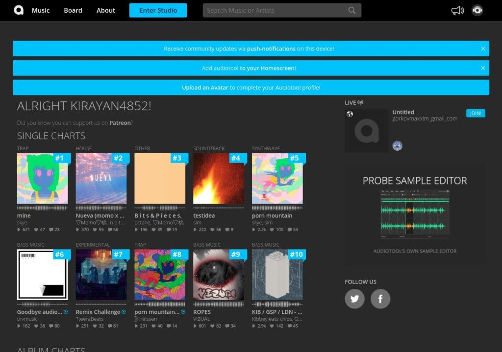 Screenshot 2020 05 15 at 19.13.56 1024x719 - ChromebookでWebシンセ?オンラインWebアプリ「Audiotool」でバーチャルシンセを楽しむ?!