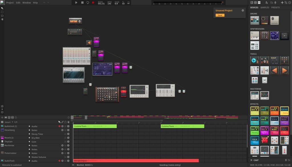 Screenshot 2020 05 15 at 19.28.19 1024x588 - ChromebookでWebシンセ?オンラインWebアプリ「Audiotool」でバーチャルシンセを楽しむ?!