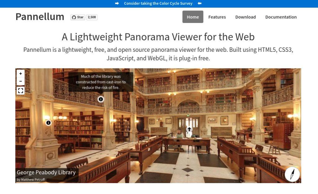 Screenshot 2020 05 18 at 10.17.14 1024x625 - ChromebookでVR?Pixabay 360°パノラマ写真を「Pannellum」でブログ記事に埋め込んでVR化?!