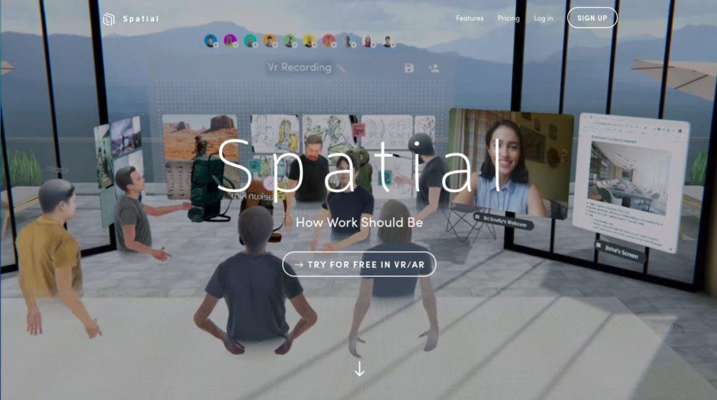Screenshot 2020 05 20 at 19.21.28 1024x572 - バーチャル空間を共有?無償化された「Spatial」にChromebookから参加してみる?!