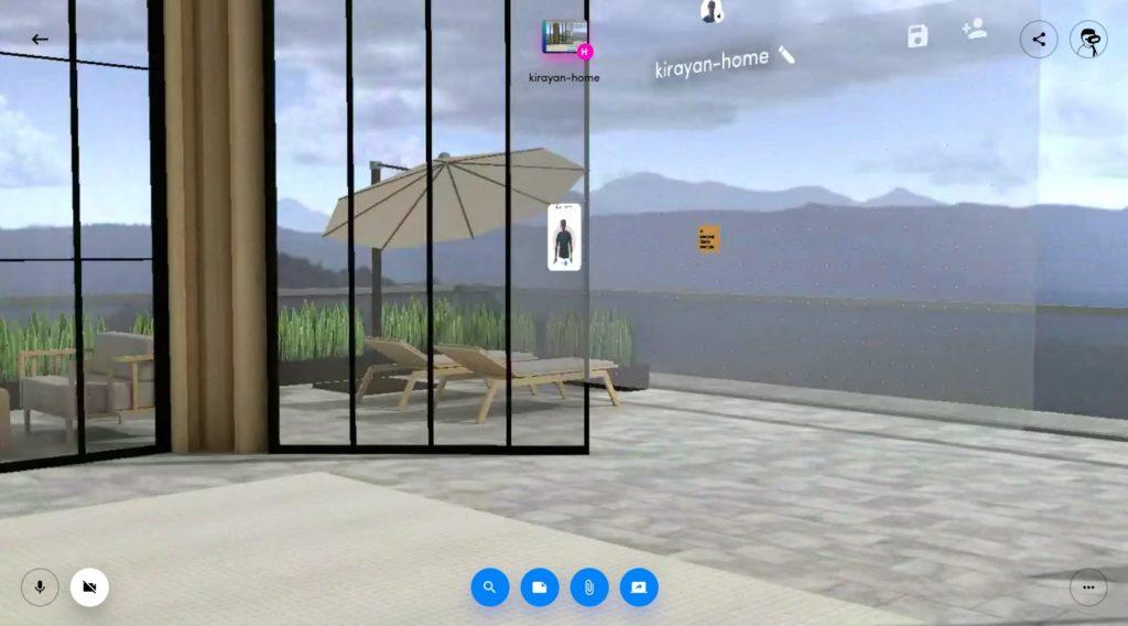 Screenshot 2020 05 21 at 11.44.25 1024x568 - バーチャル空間を共有?無償化された「Spatial」にChromebookから参加してみる?!