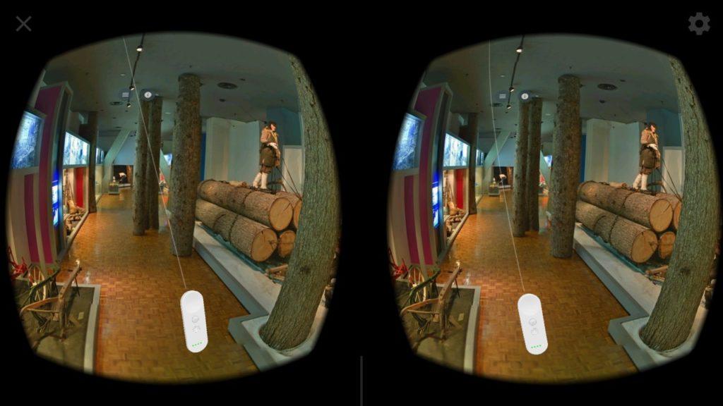 daydream 3 1024x576 - バーチャル北海道博物館?スマホのVR体験をストリートビューで?!
